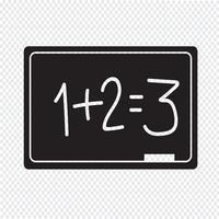 Blackboard Icon symbole signe