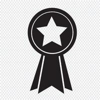 signe de symbole icône médaille