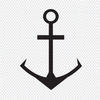 Ancre icône symbole signe