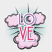 Amour pop art