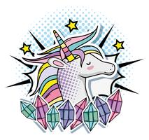 Licorne Pop Art
