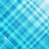 Abstrait technologie bleu clair. Modèle fractal numérique.