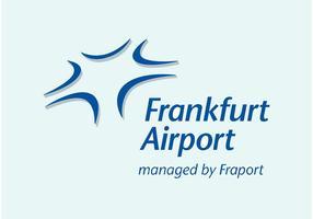 L'aéroport de Francfort vecteur