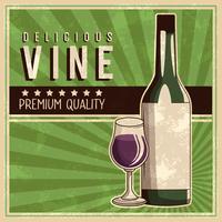 affiche de boisson vintage