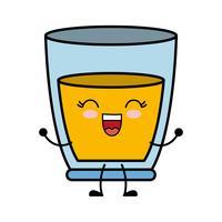 icône de verre de jus
