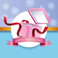 Carte de fête des mères heureuse