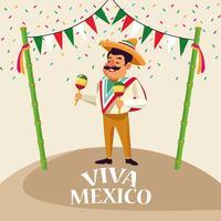 Dessins animés Viva mexico