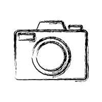 image d'icône de caméra vecteur