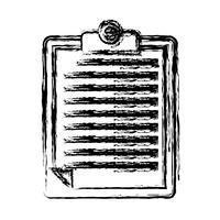 icône de table de rapport vecteur