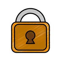 icône de cadenas de sécurité