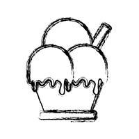 icône de la crème glacée