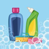 ménage nettoyage dessin animé