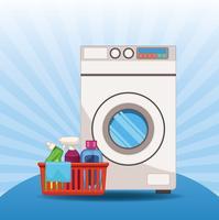 trousse d'entretien ménager et de nettoyage vecteur