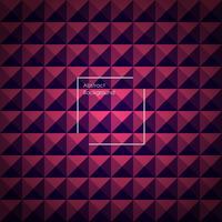 Fond pyramidal abstrait bleu et rose pour vos créations. vecteur