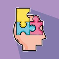 traitement psychologique à l'analyse problème mental vecteur