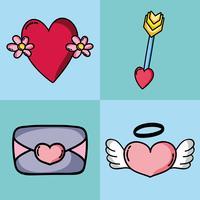 définir la conception de correctifs Saint Valentin