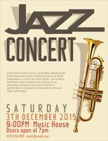 Illustration vectorielle de festival de jazz