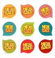 Nouvel An fond de vente
