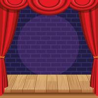 Spectacle et théâtre vecteur