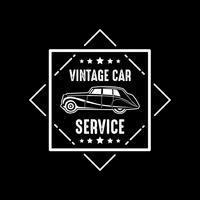 Insigne de voiture et logo, bon pour l'impression vecteur