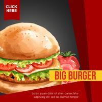 Conception de menus de restauration rapide. Apéritif, liste, fond, menu, liste, nourriture, modèle, créatif, aquarelle, conception, illustration, conception vecteur