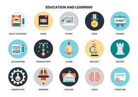 icônes de l'éducation pour les entreprises