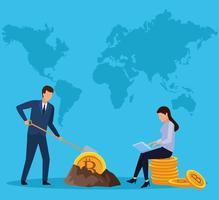 exploitation minière numérique bitcoin