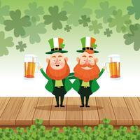 Saint Patrick Elfes Cartoons