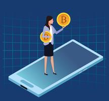 Technologie de crypto-monnaie Bitcoin