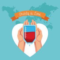 La charité est un dessin d'amour