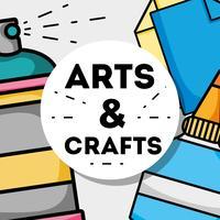 création d'objets d'art et d'artisanat