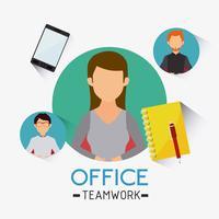 Bureau d'affaires et humain