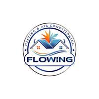 Logo de climatiseur domestique vecteur