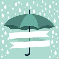parapluie avec pluie