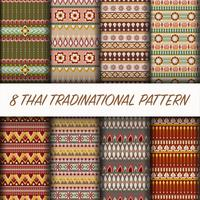 Ensemble de modèles traditionnels thaïlandais
