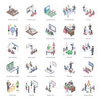 Pack d'icônes de coaching d'affaires
