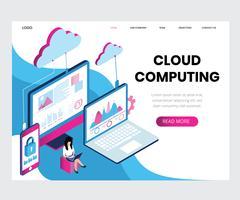 Cloud Computing isométrique