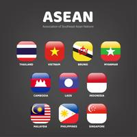 Pack d'icônes de drapeau de pays