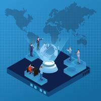 Idées de technologie numérique vecteur