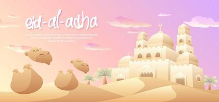 Eid Al Adha dans le désert