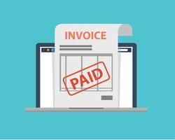 Icône de facture