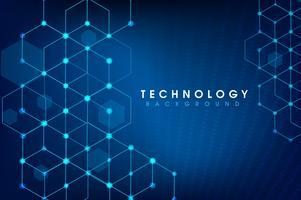 concept de technologie globale numérique de vecteur