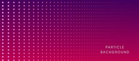 Fond dynamique liquide de particules incandescentes vecteur