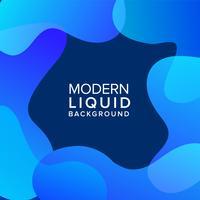 Fond de couleur liquide vecteur