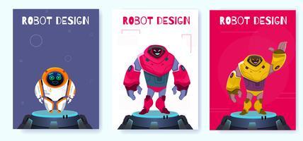 Affiche de robot de nouvelle génération