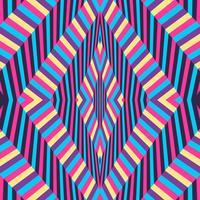 Illusion d'optique fond coloré