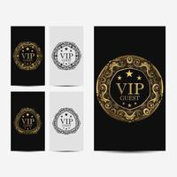 Carte de luxe premium VIP