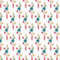 Vintage design floral abstrait