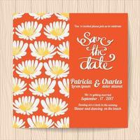 Modèles de cartes d'invitation de mariage