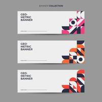 Collection de bannières rétro